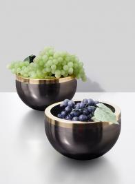 Bronze Gold Rim Bowl