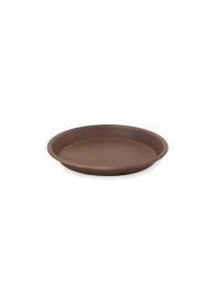 7 1/4in Copper Rust Zinc Saucer