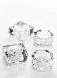 Crystal Tea Light Holders