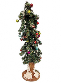 decorative christmas tree with berries M3206153