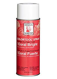 design master colortool spray paint coral bright CAM-0778