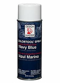 design master colortool spray paint Navy Blue CAM-0738
