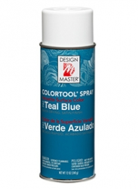 design master colortool spray paint Teal Blue CAM-0742