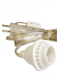 Drop Light For Hanging Lantern Clear 15FTDL