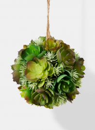 artificial succulent plant ball