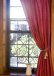 52 x 102in Fuchsia Poly-Dupioni Curtain Panel