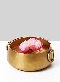 9in Gold Iron Handi Bowl
