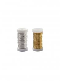 gold silver metallic wire florist 2621 2622