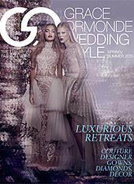 Grace Ormonde Wedding Style Spring Summer 2015 Cover