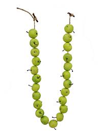 39in Green Apple Garland