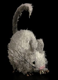 grey rat halloween decor MT100824323C