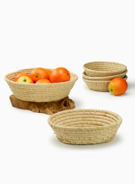 Natural Raffia Baskets