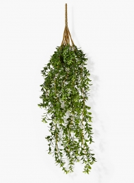 25in Faux Boxwood Hanging