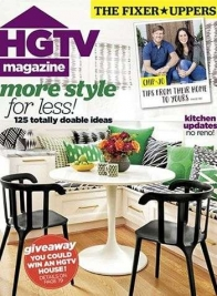 hgtv magazine chip joanna gaines cover november 2017