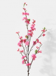 pink palace cherry blossom silk flower branch