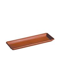 Kyoto Terracotta Rectangular Saucer 9B430SZ