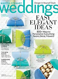Martha Stewart Weddings Summer 2013 Cover