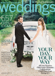 martha stewart weddings magazine winter 2016 cover