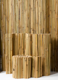 Inside-Wired Bamboo Fences