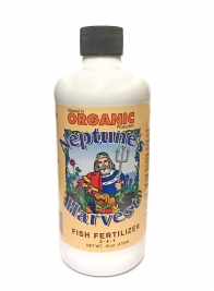 Organic Neptune's Harvest Fish Fertilizer