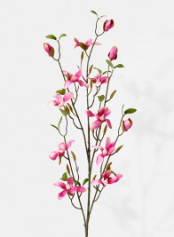 pink magnolia silk flowers for wedding event retail display