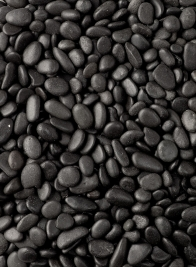 Polished Black Gravel