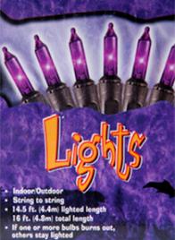 purple halloween light set E62ES65340