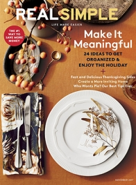 real simple magazine november 2017 cover