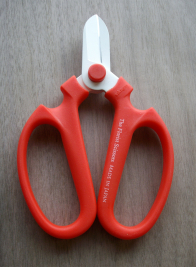 Red Sakagen The Florist Scissors, Right-Hand