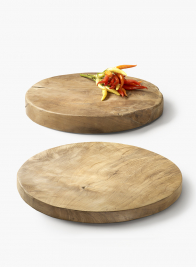Round Teak Wood Boards