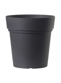 samba anthracite black planter