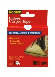 1 1/2in x 42ft Scotch Double-Sided Carpet Tape