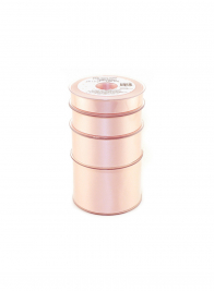 1in Light Pink Swiss Satin Ribbon
