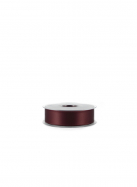 swiss satin double face ribbon W035-064 Burgundy