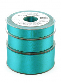 Swiss Satin Double Face Ribbon W035-303 Turquoise