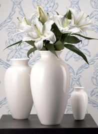 Porcelain Ginger Vase
