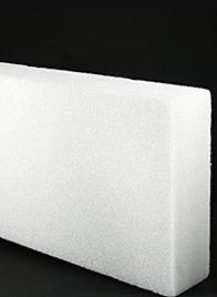 white styrofoam sheet 10B4W
