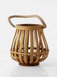 Chinese & Bell Wood Hurricane Lanterns