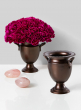 5in Bronze Flower Vase Urn
