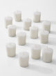 white 15-hour votive candles 13000