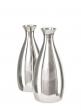 5 1/2in Silver Aluminum Bud Vase