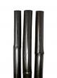 black bamboo pole