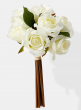 White Forever Rose Bouquet 24741