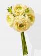 cream green ranunculus artificial bouquet