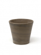 Round brown pot