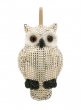 8 1/2in Champagne Stud Owl