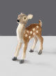 8in Glittered Holiday Deer