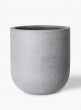 16in Rough Grey Ficonstone Round Pot