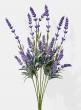 artificial lavender spray silk flowers