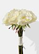 cream silk rose wedding bouquet